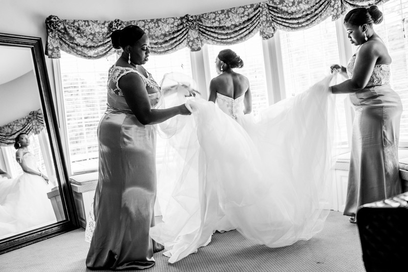 Glendalough Manor Wedding Liberian Wedding Bride 2