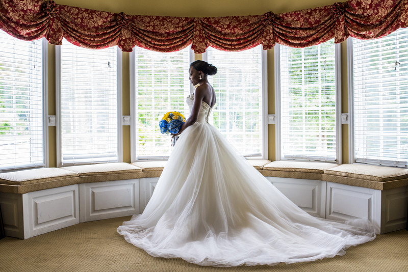 Glendalough Manor Wedding Liberian Wedding bride 3