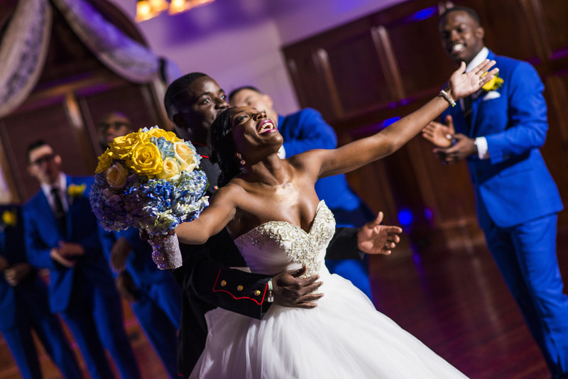 Glendalough Manor Wedding Liberian Wedding Couple