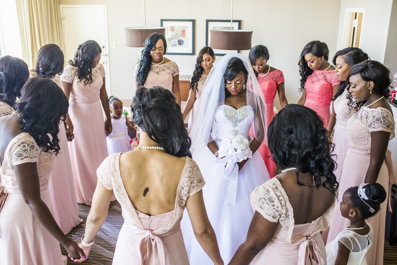 Hilton Atlanta Hotel Atlanta Wedding Photographer bride