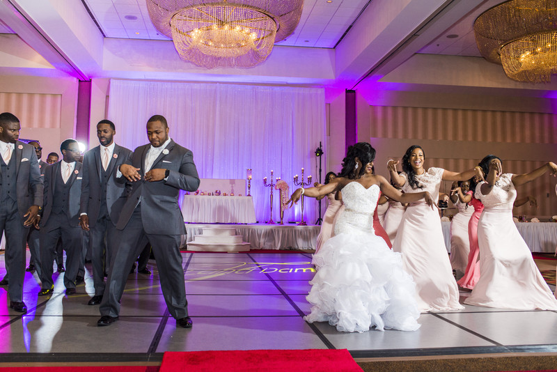Hilton Atlanta Hotel Atlanta Wedding Photographer dance
