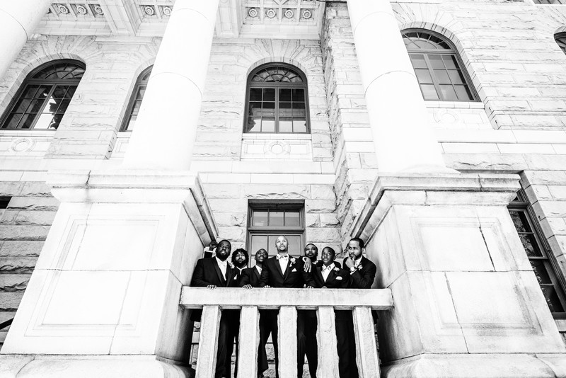Historic DeKalb Courthouse Atlanta Wedding Photographer 4