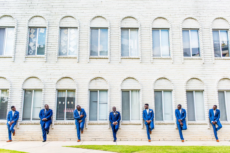 Ballroom Carlos Center Wedding Photographer groomsmen