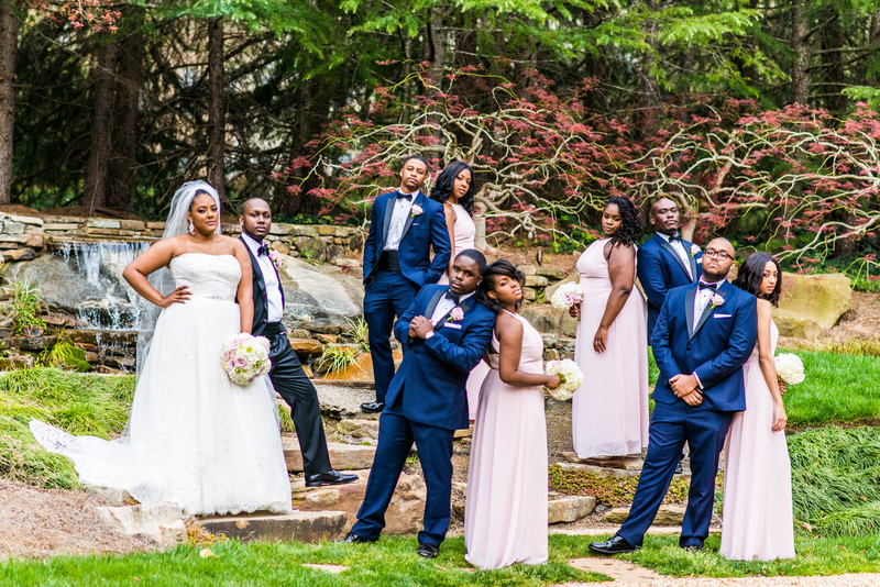Hyatt Regency Atlanta Villa Christina Wedding Bridal Party