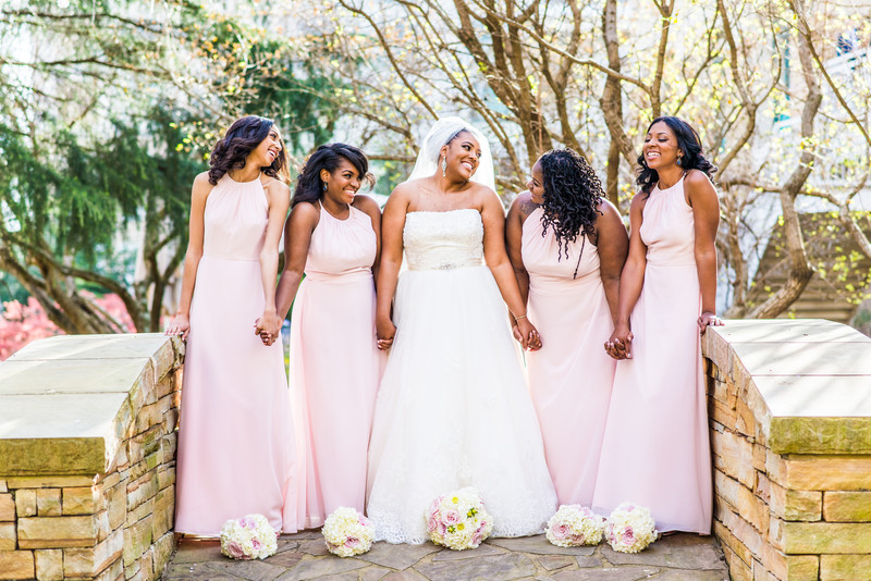 Hyatt Regency Atlanta Villa Christina Wedding Bridesmaids
