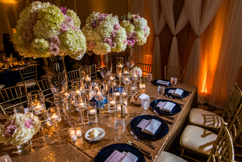 Hyatt Regency Atlanta Villa Christina Wedding Decor