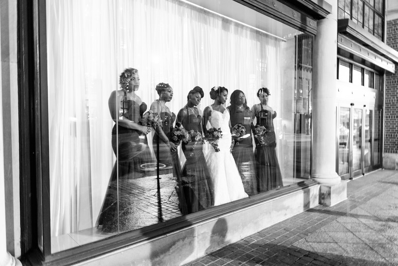 200 Peachtree Atlanta Wedding Photographer Bridesmaids