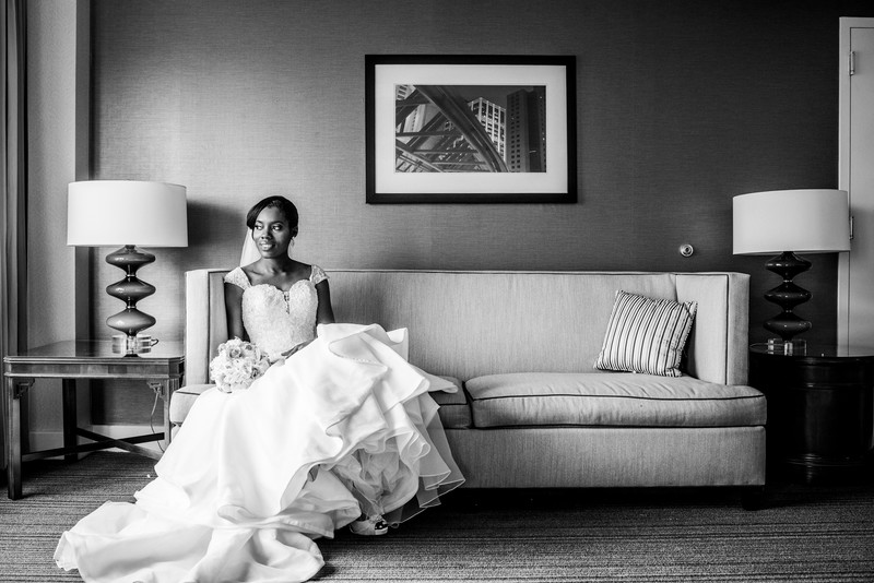 Sonesta Gwinnett Place Atlanta Hotel Wedding bride