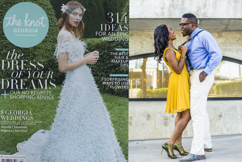 Fotos by Fola Featured in The Knot 2018 Spring Summer Issue