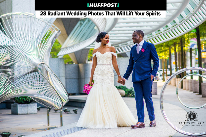 Cameroonian Couple Featured on Huffington Post Weddings