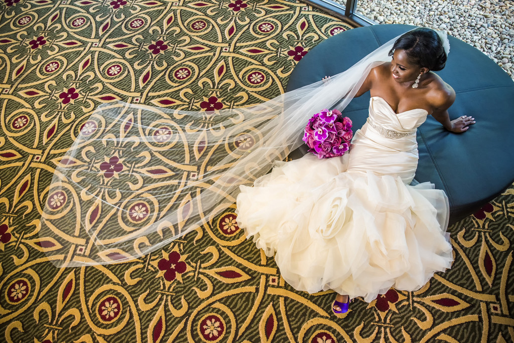 Hilton Hotel peachtree City Wedding Photographer bride 1