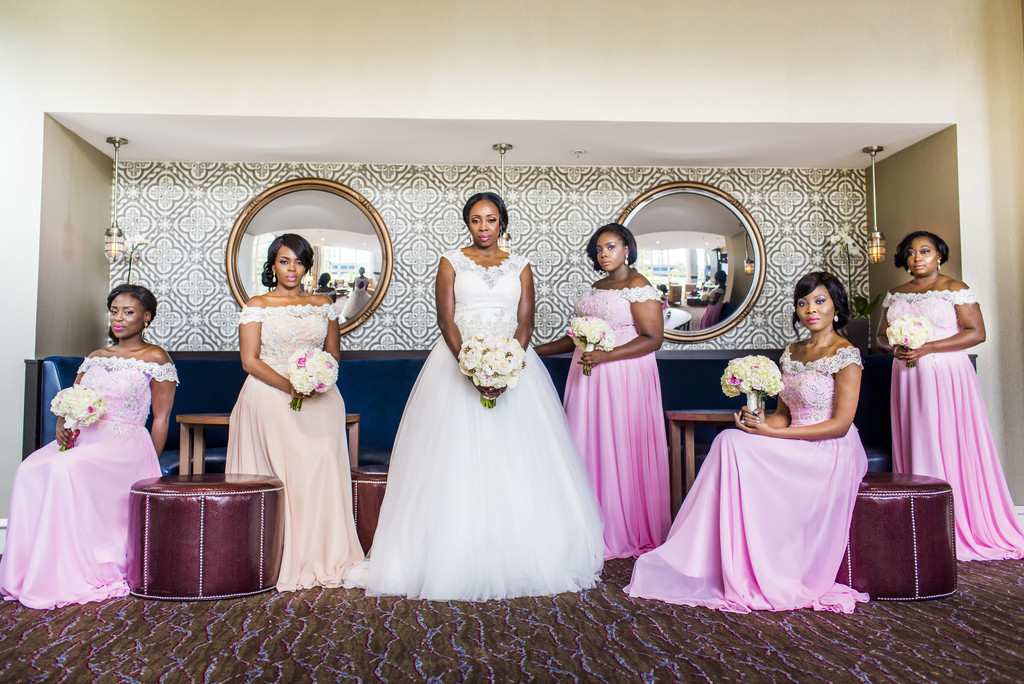 Westin Perimeter Atlanta Wedding Photographer Bridesmaids