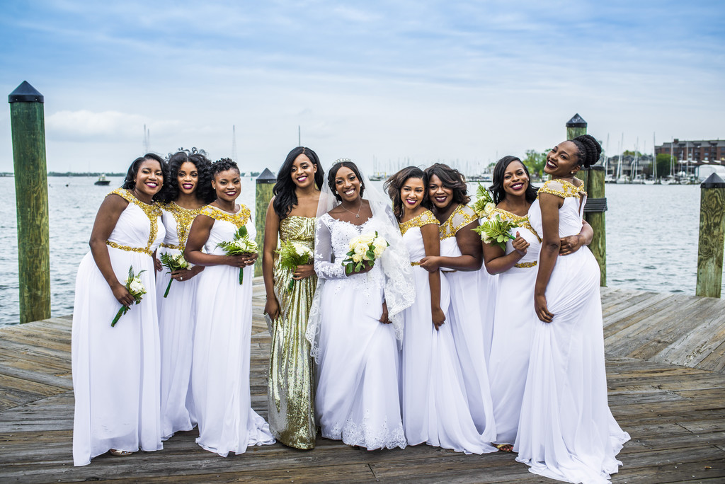 Annapolis Dock Annapolis Wedding Photographer Bridesmaid