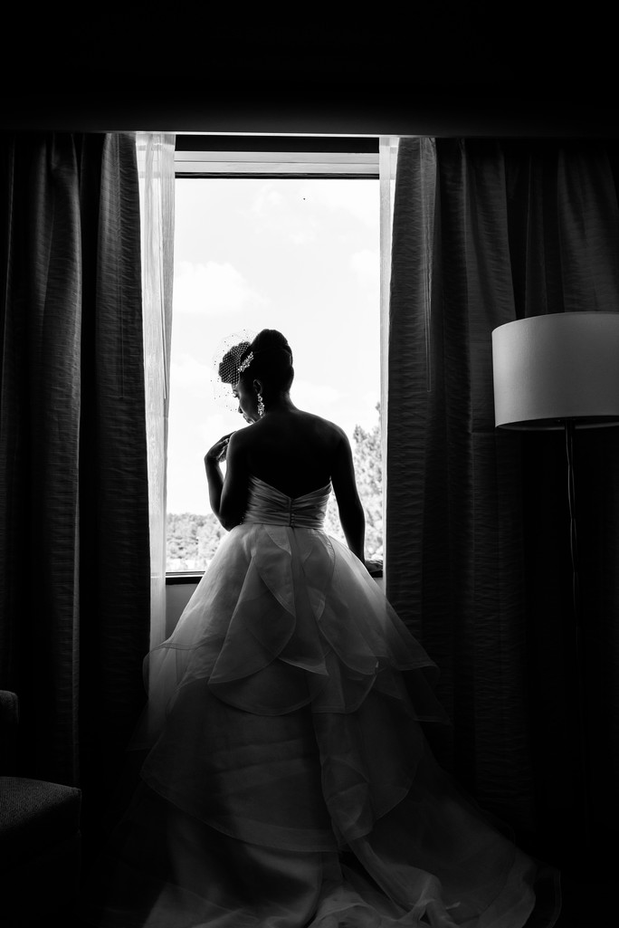 KTN Ballroom Wedding Atlanta Wedding Photographer bride