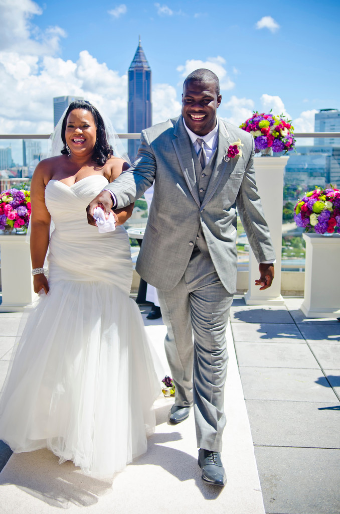 Ventanas Atlanta Wedding Photographer Just Married