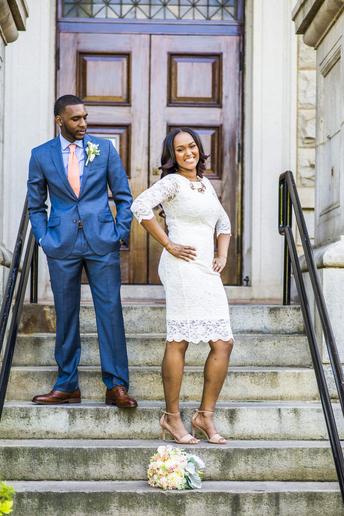 Historic DeKalb Courthouse Wedding Photographer Atlanta