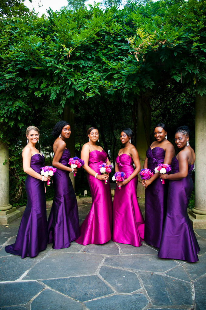 Georgia Aquarium Atlanta Wedding Photographer Bridesmaids