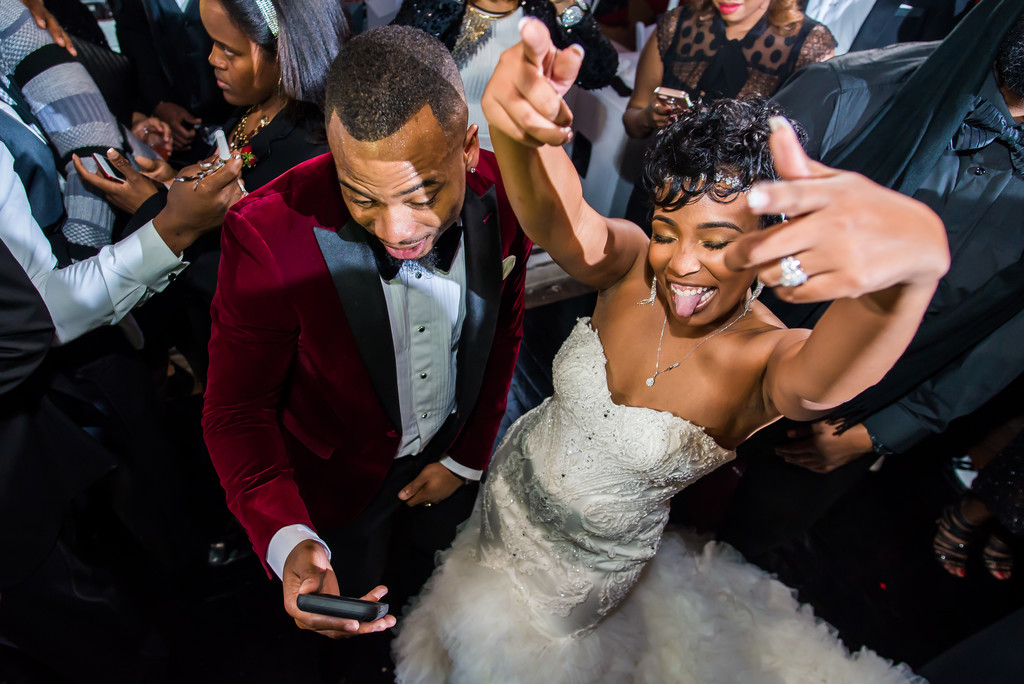Ambient + Studio Atlanta Wedding Photographer Dancing