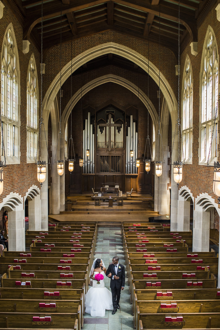 Scarritt-Bennett Center - Wightman Chapel Wedding