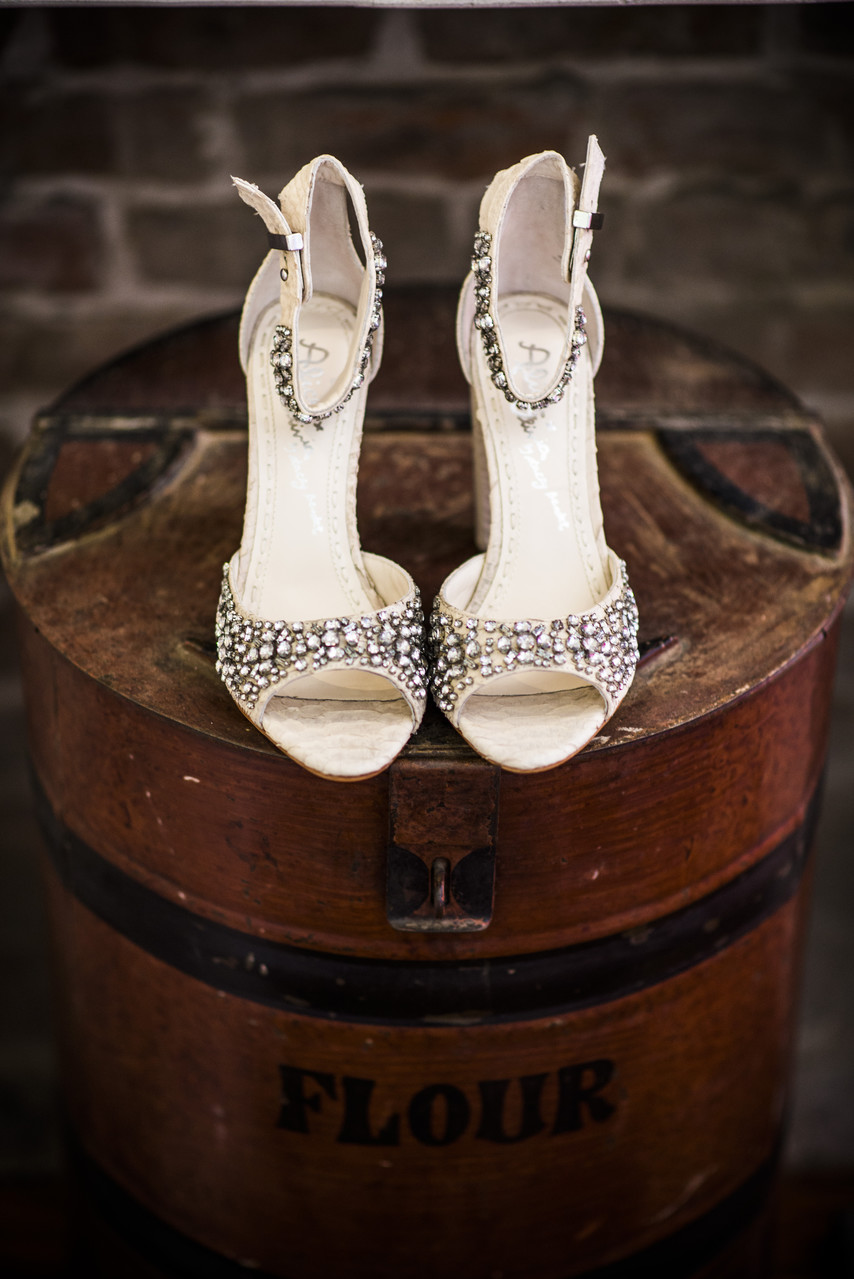Race and Religious New Orleans Wedding Photographer Shoes
