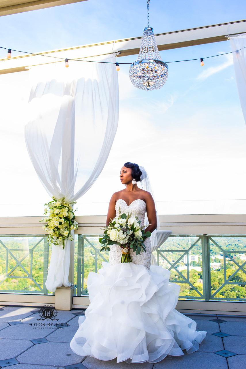 The Peachtree Club Atlanta Wedding Photographer Bride