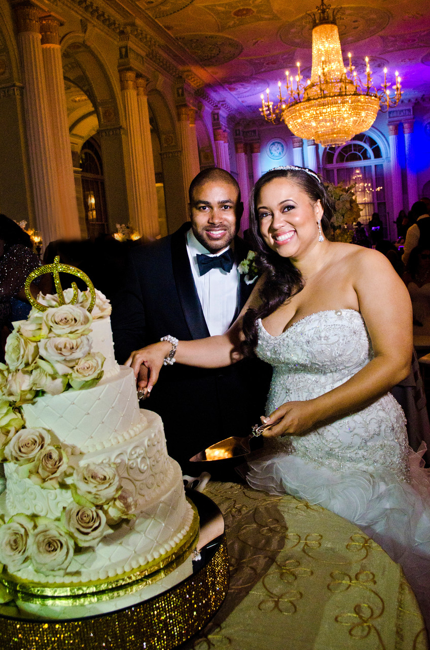 Biltmore Ballrooms Atlanta Wedding Photographer cake