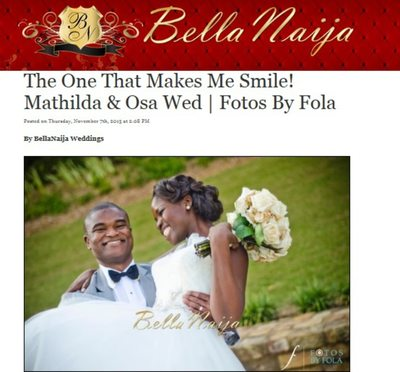 Fotos by Fola Couple Featured on Bella Naija Weddings