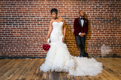 Ambient + Studio Atlanta Wedding Photographer couple
