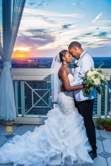 Peachtree Club Atlanta Wedding Photographer Sunset
