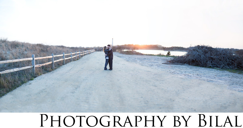 Cape May Lighthouse Engagement Photographer