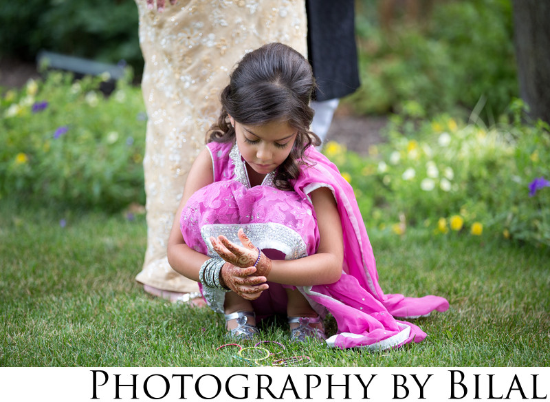 Candid Kids at Weddings Photographs