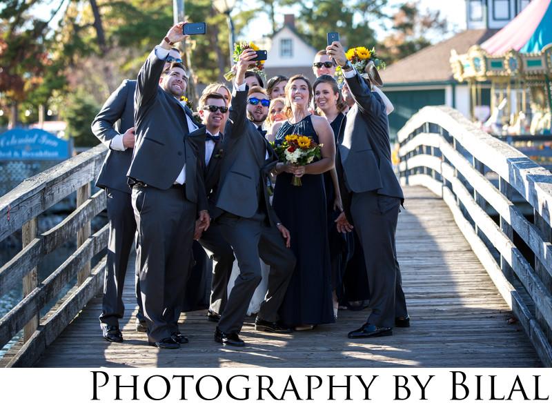 Funny Bridal Party Photos Nj