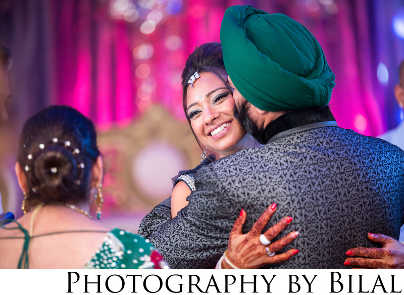 Creative Sikh Wedding Photographers NJ