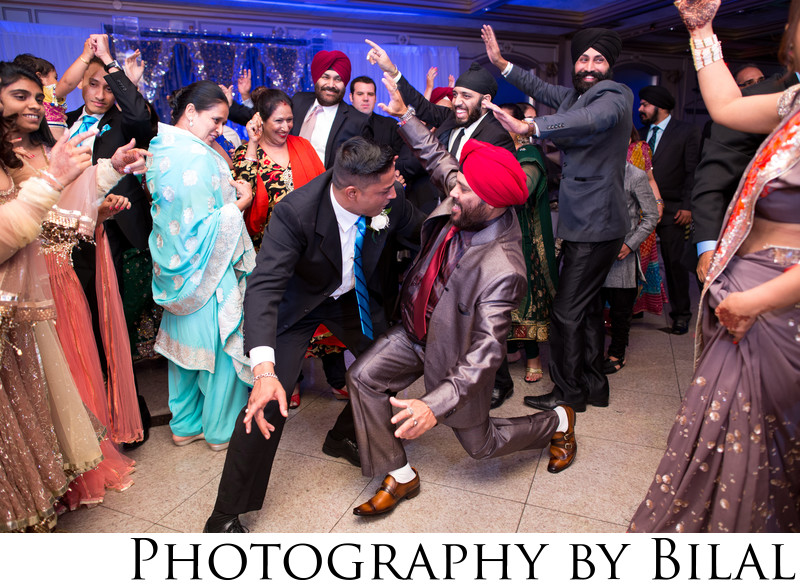 Sikh Wedding Reception Photography NJ