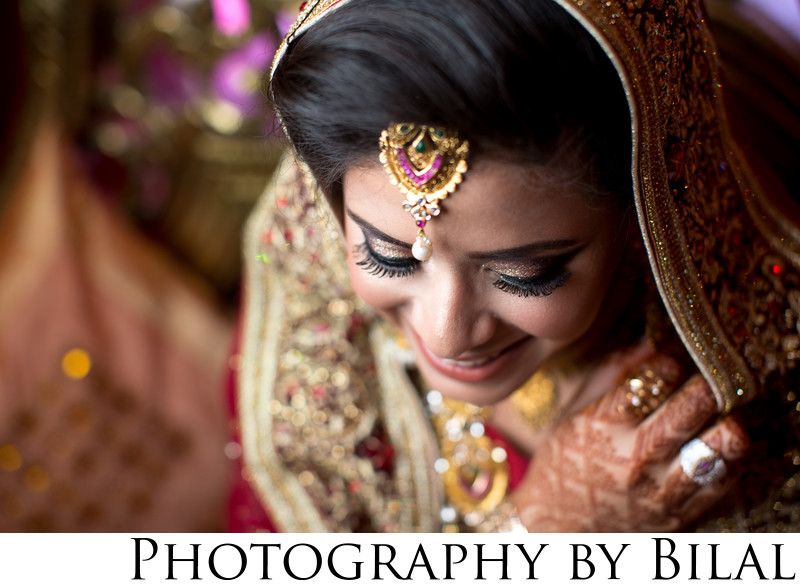 Beautiful Pakistani Bridal Portrait