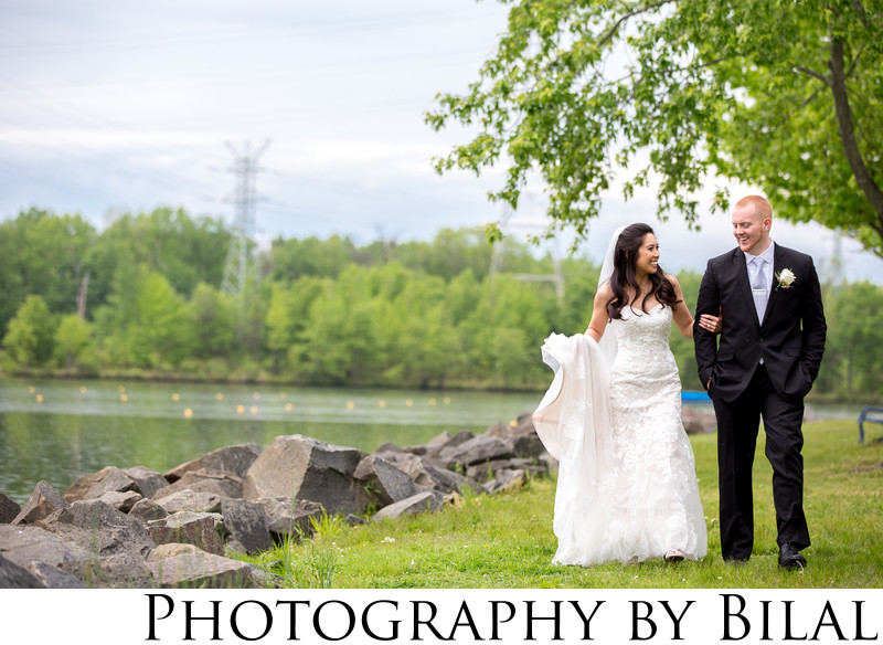 Mercer county park wedding