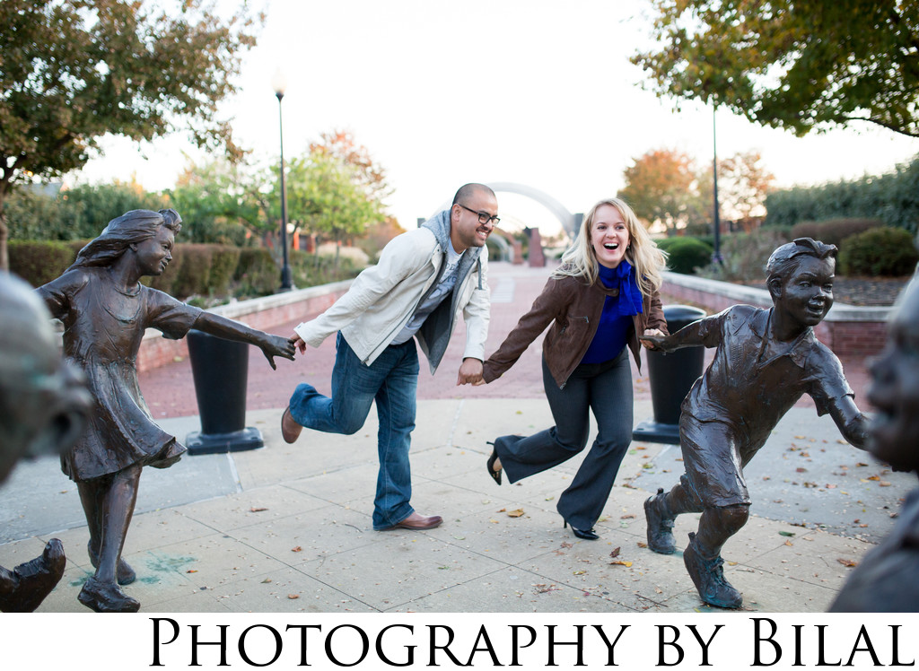 Fun Engagement Photographers in NJ