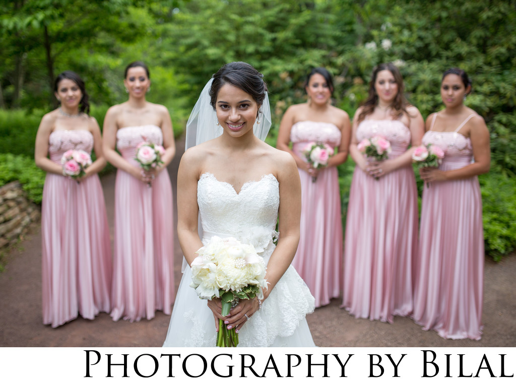 Bridesmaids Wedding Photos NJ