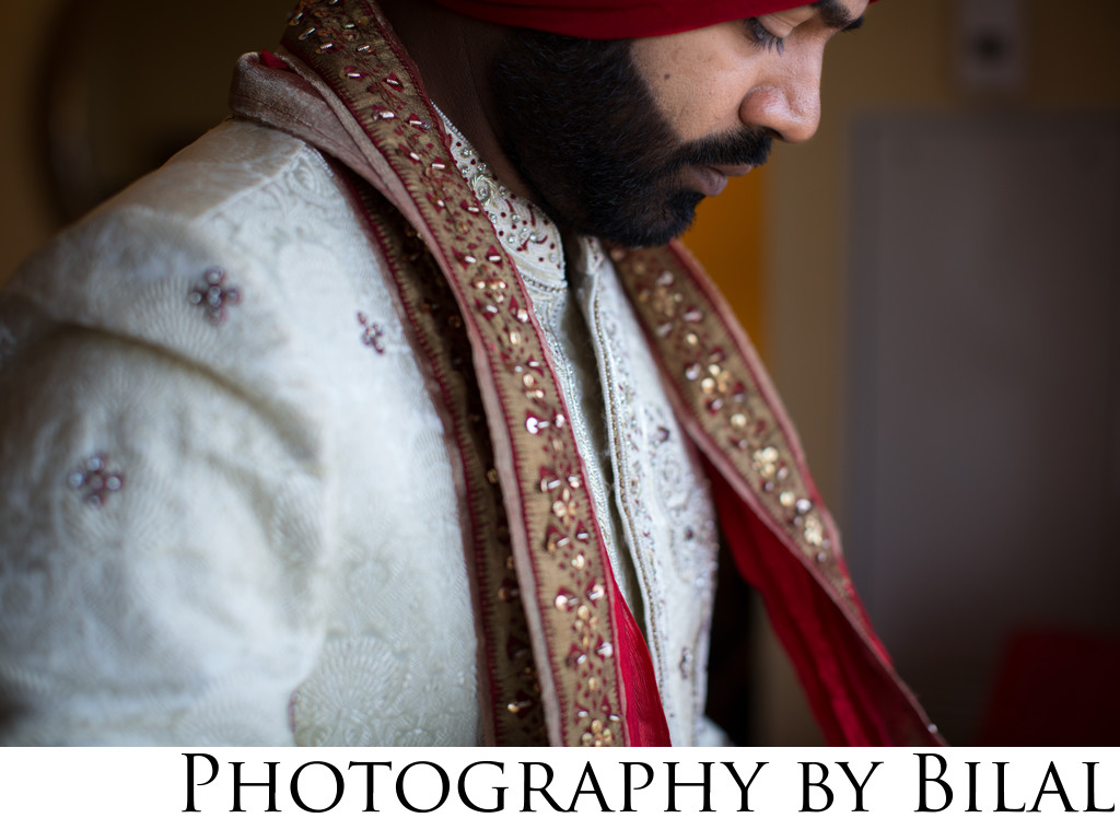 Sikh Groom Wedding Photographers NJ