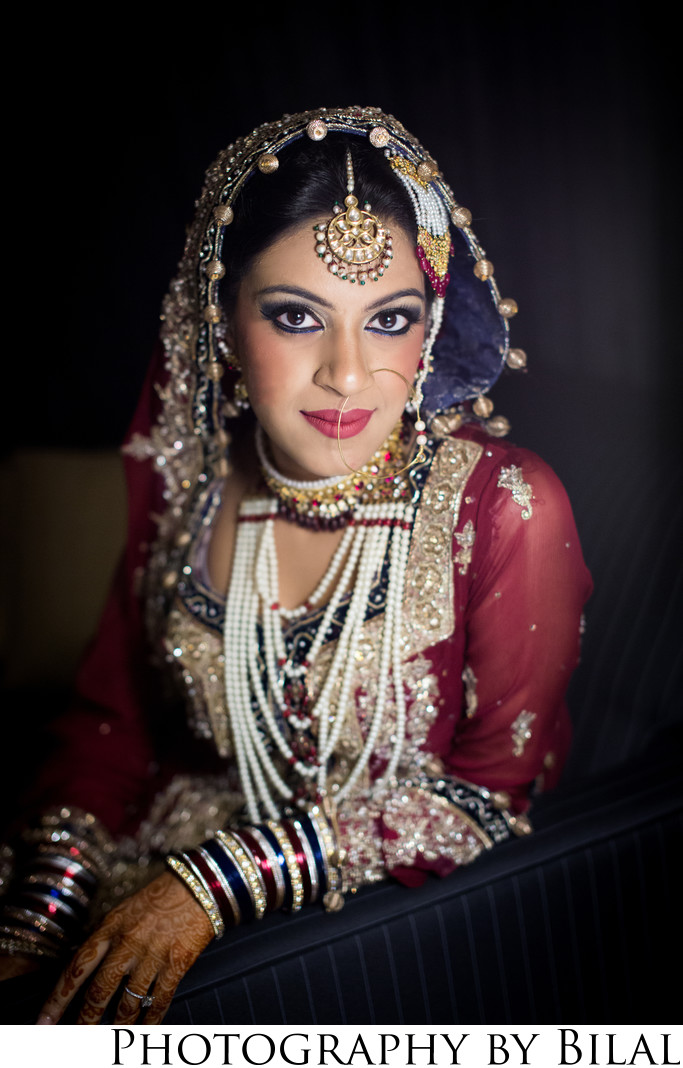 Indian Bride Wedding Portraits