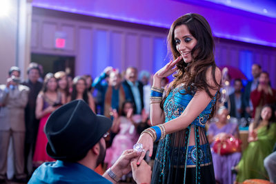 Best Punjabi Wedding Photography Sangeet NJ