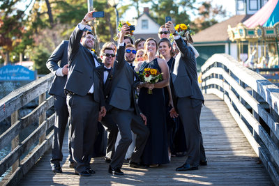 Funny Bridal Party Photos NJ