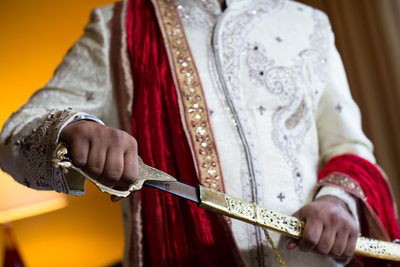 Sikh Sword Wedding Photography NJ