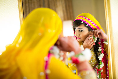 Pakistani Mehndi Wedding Photography NJ
