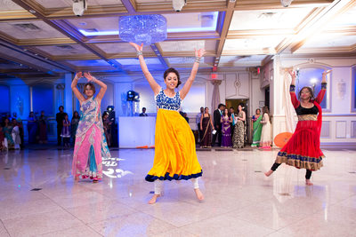 Punjabi wedding dancing reception NJ