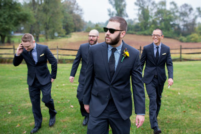 Groomsmen Wedding Photos NJ