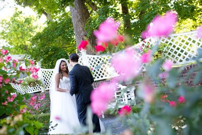 First Look Wedding Photos at ShadowBrook NJ