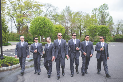 Groomsmen Wedding Photography NJ