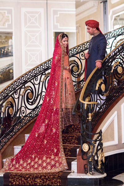 The Venetian NJ Pakistani Wedding Photographers