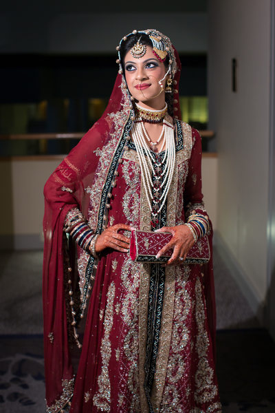 Pakistani Bridal Portraits Photographer